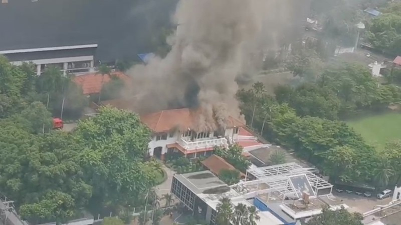 Wisma Indonesia di Bangkok. - Twitter @Ch7HDNews