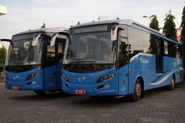 Ilustrasi Bus Rapid Transit