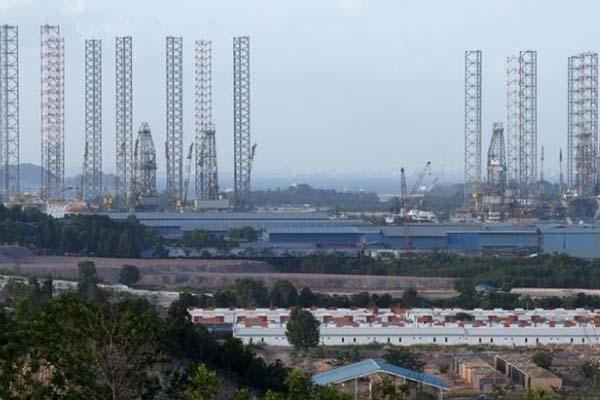 Salah satu sudut pandang Kota Batam, Kepulauan Riau. - Reuters/Edfar Su