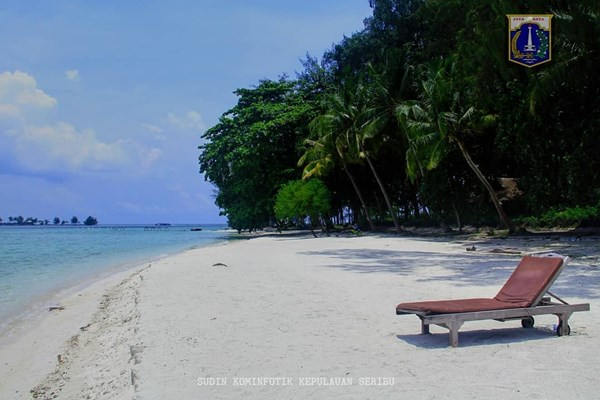 Pulau Pelangi, Kepulauan Seribu. - Pemprov DKI