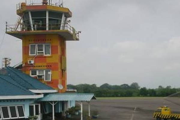 Bandara Abd Saleh di Kabupaten Malang, Jawa Timur. - Antara