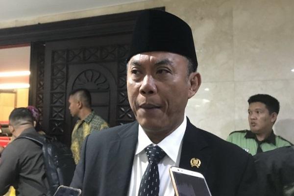 Ketua DPRD DKI Jakarta Prasetio Edi Marsudi ditemui di Gedung DPRD DKI Jakarta, Jakarta Pusat, Senin (1/7/2019). - Antara