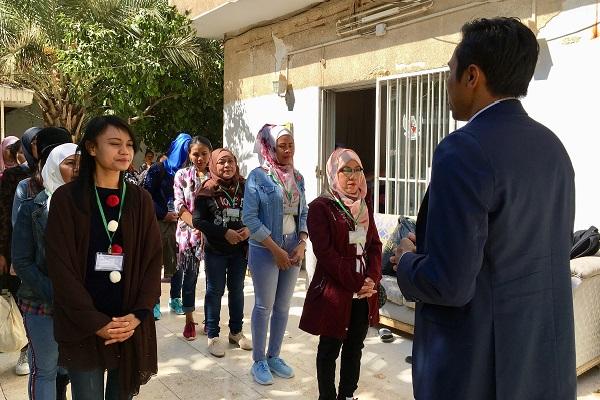 TKI yang Dipulangkan KBRI Damaskus - Kementerian Luar Negeri