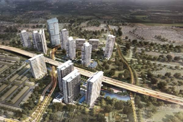Ilustrasi: Silk Town Apartemen milik PT Jaya Real Properti Tbk - Istimewa