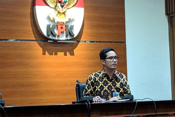 Juru bicara KPK Febri Diansyah. - Bisnis/Ilham Budhiman