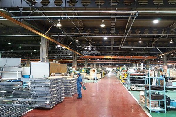 Pabrik Sanwa di Jepang. - Bisnis