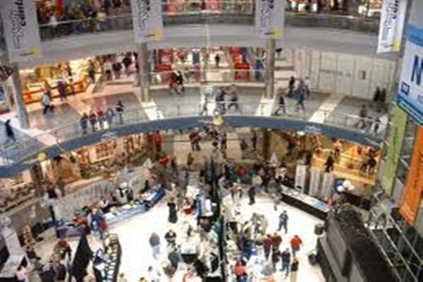 Pusat perbelanjaan - Ilustrasi