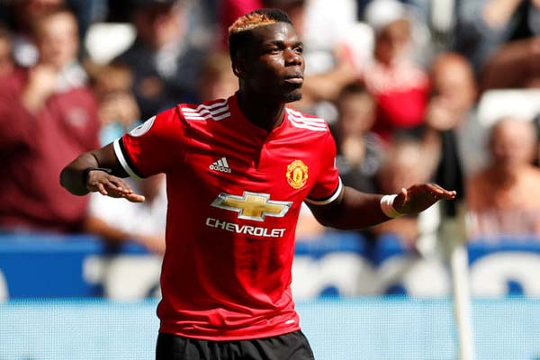 Peman Manchester United Paul Pogba - Reuters/Andrew Boyers
