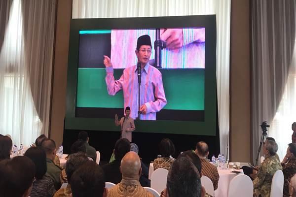 Imam Besar Masjid Istiqlal Nasaruddin Umar - Bisnis.com/Hery Trianto