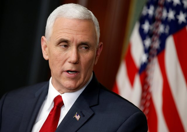 Wakil Presiden AS Mike Pence. - Reuters