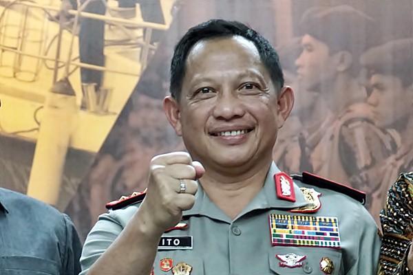 Kapolri Jenderal Pol Tito Karnavian. - Antara/Agus Bebeng