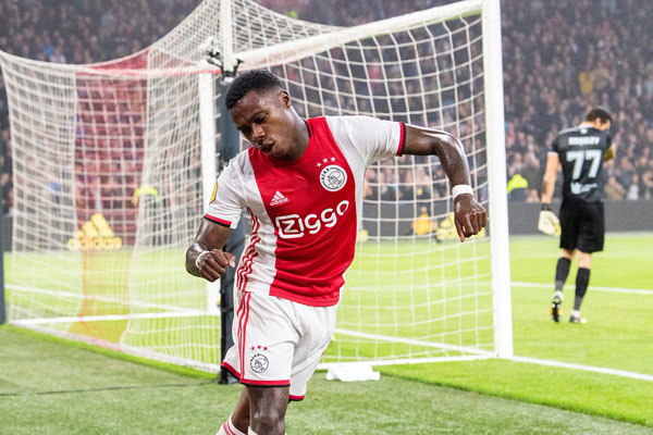 Penyerang Ajax Amsterdam Quincy Promes. - Twitter Ajax