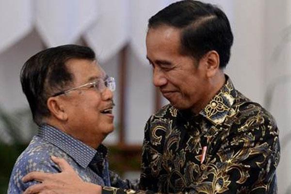 Presiden Joko Widodo (kanan) dan Wapres Jusuf Kalla - Istimewa/Setwapres