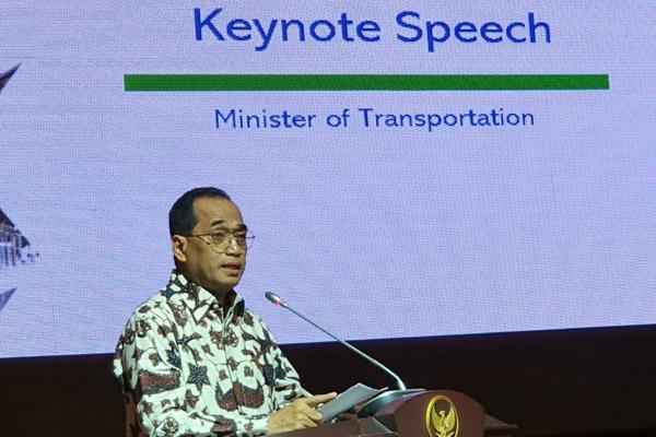 Menteri Perhubungan Budi Karya Sumadi. - Bisnis/Rio Sandy Pradana