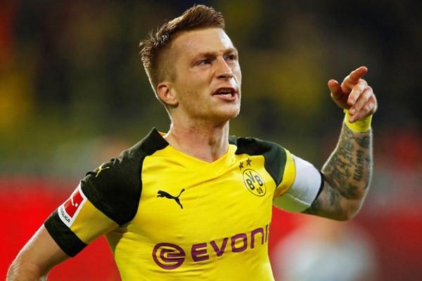 Kapten tim Borussia Dortmund Marco Reus - Reuters/Wolfgang Rattay