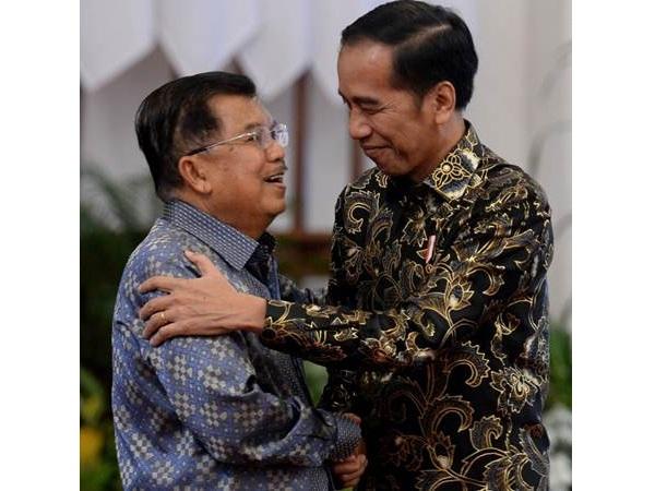 Presiden Joko Widodo (kanan) dan Wapres JK (kiri) - Istimewa/Setwapres
