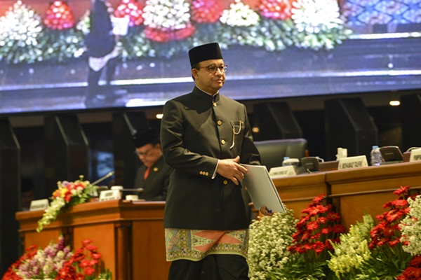Gubernur DKI Jakarta Anies Baswedan - ANTARA/Nova Wahyudi