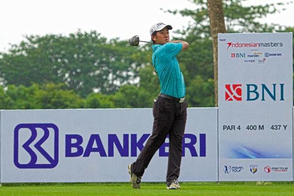 Pegolf andalan Indonesia George Gandranata - Indonesia Masters