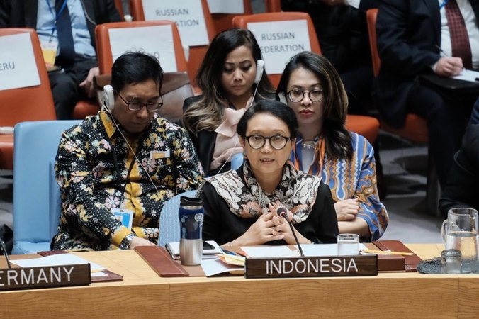 Menteri Luar Negeri RI Retno Marsudi. - Twitter @Menlu_RI