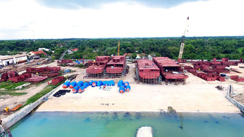 Lokasi pembangunan kapal baru PT Adiluhung Saranasegara. - assishipyard.com