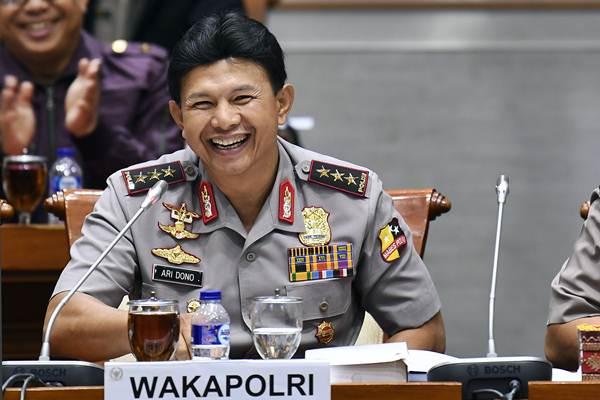 Wakapolri Komjen Pol. Ari Dono Sukmanto - ANTARA/Puspa Perwitasari
