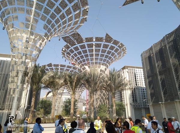 Proyek Expo 2020 Dubai di Uni Emirat Arab. BISNIS - Zufrizal