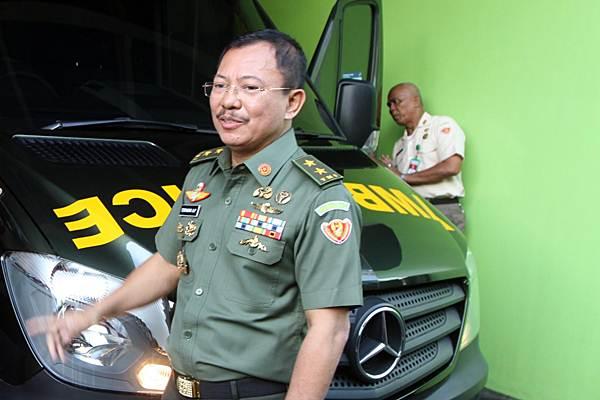 Kepala Rumah Sakit Pusat Angkatan Darat (RSPAD) Mayjen TNI Terawan Agus Putranto, di RSPAD, Jakarta, Senin (2/3/2018). - JIBI/Endang Muchtar