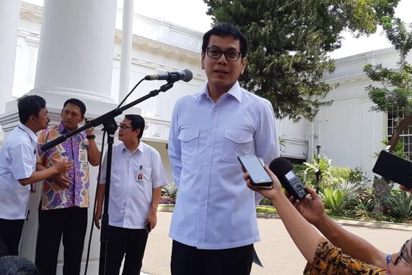 Wishnutama Kusubandio pendiri dan Komisaris Utama NET hadir di Istana Negara pada Senin 21 Oktober 2019. - Bisnis/Amanda Kusuma Wardhani