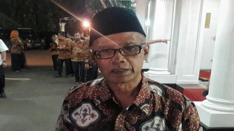 Ketua Umum PP Muhammadiyah Haedar Nashir. - Antara
