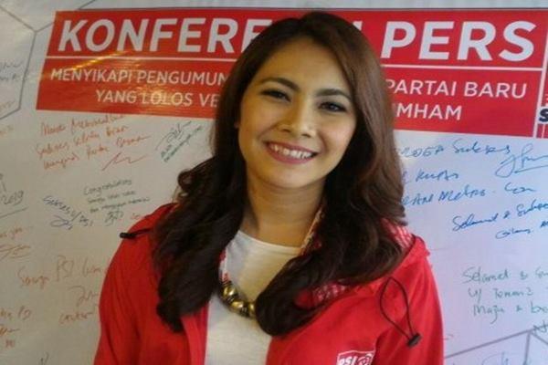 Ketua DPP Partai Solidaritas Indonesia (PSI) Isyana Bagus Oka - Antara