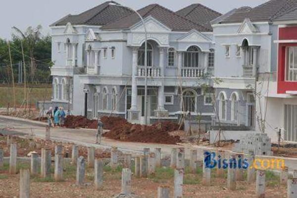 Proyek rumah mewah. - Ilustrasi/Bisnis.com