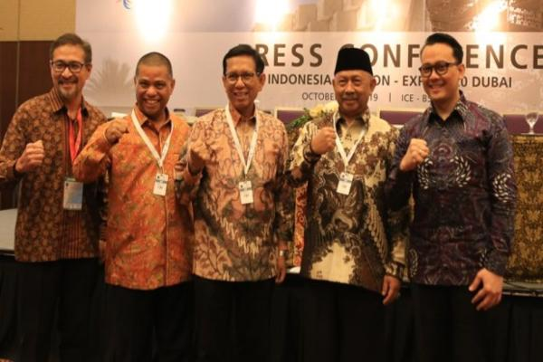 Peluncuran Paviliun Indonesia di Dubai Expo 2020. - Istimewa