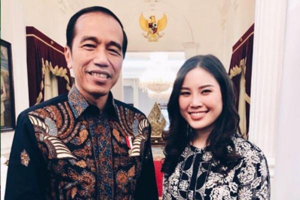 Angela Tanoesoedibjo dan Presiden Joko Widodo - Instagram