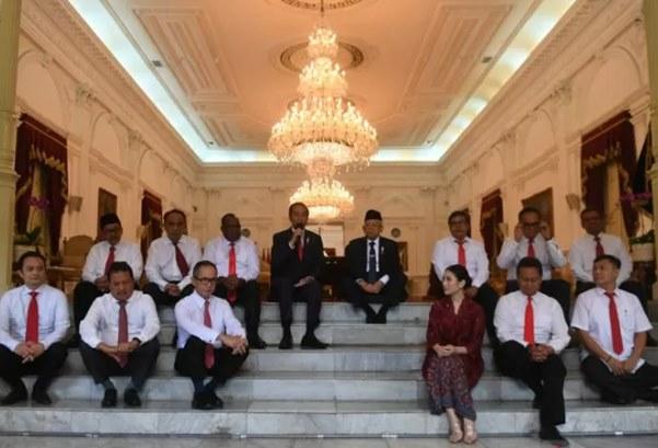 Pelantikan Wakil Menteri oleh Presiden Joko Widodo - Antara