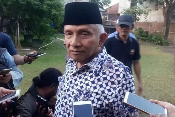 Ketua Dewan Kehormatan Partai Amanat Nasional (PAN) Amien Rais. - Antara