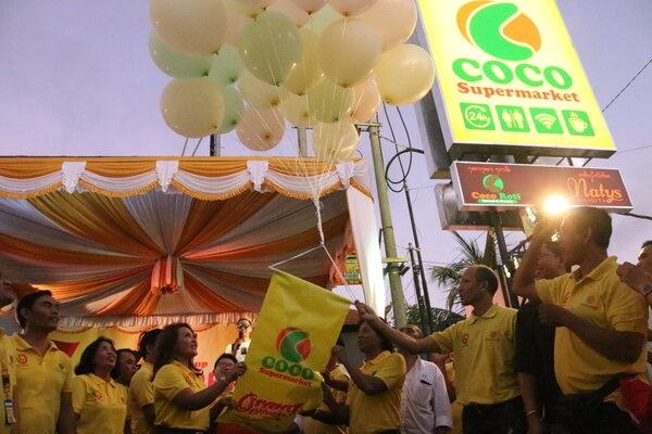 Suasana saat peresmian gerai Coco di Siligita, Nusa Dua. - Bisnis