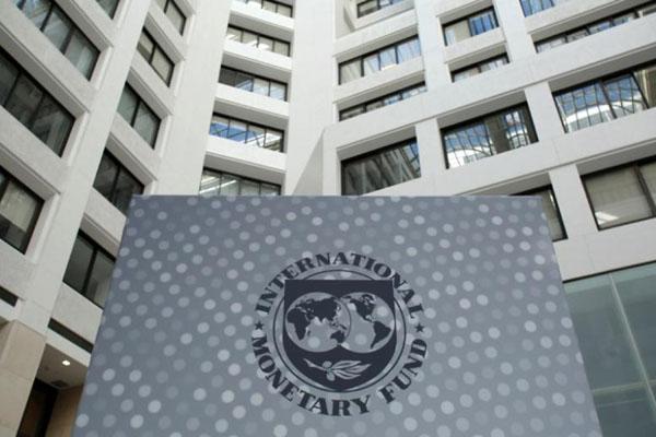 Kantor pusat IMF di Washington DC, AS. - Reuters/Yuri Gripas