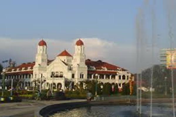 Simpang Lima Semarang. Ilustrasi. - Simpanglima.wordpress