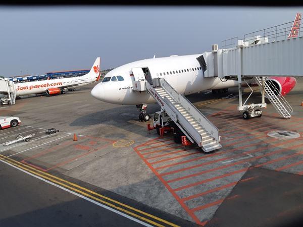 Pesawat Airbus 330-300-CEO Batik Air. BISNIS - Putri Salsabila
