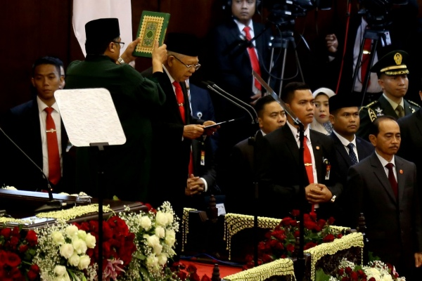 Wakil Presiden Ma'ruf Amin - Bisnis/Nurul Hidayat