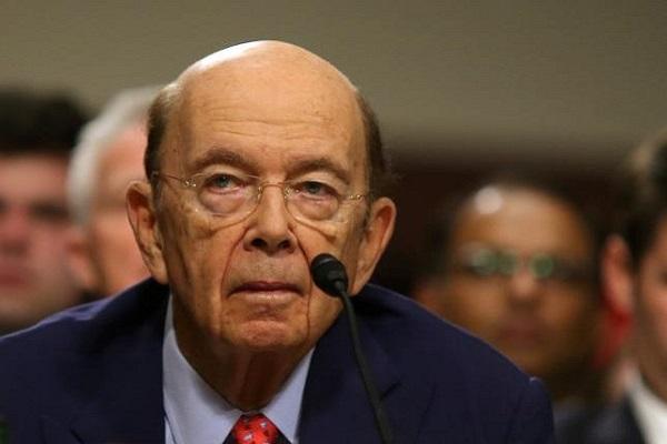 Menteri Perdagangan Amerika Wilbur Ross - Reuters