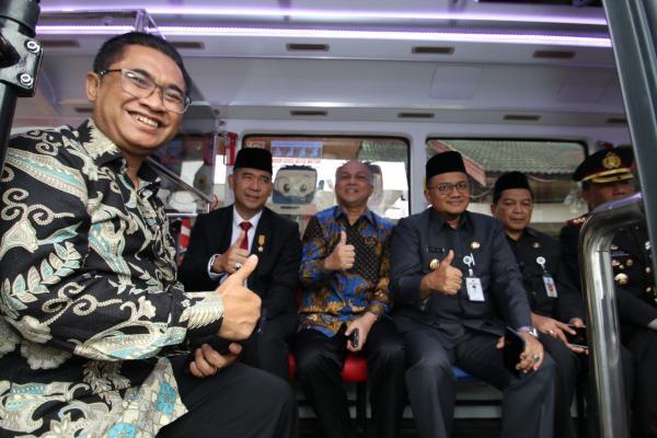 Pengoperasian Capsule Bus Koja Trans Jambi. - Istimewa