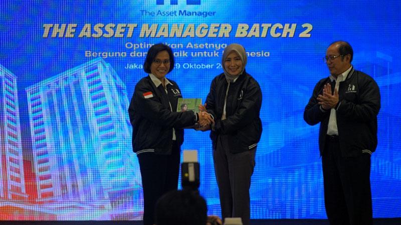 Menter Keuangan Sri Mulyani Indrawati (kiri) dalam kompetisi The Asset Manager. - Istimewa