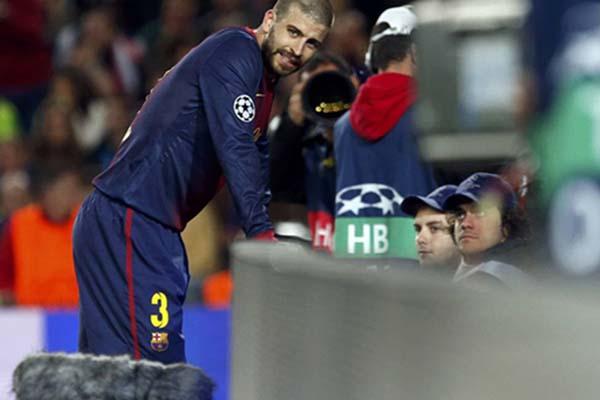 Gerard Pique - Reuters/Sergio Perez
