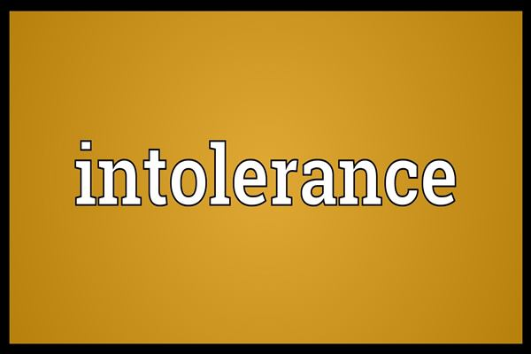 Ilustrasi intoleransi - Istimewa