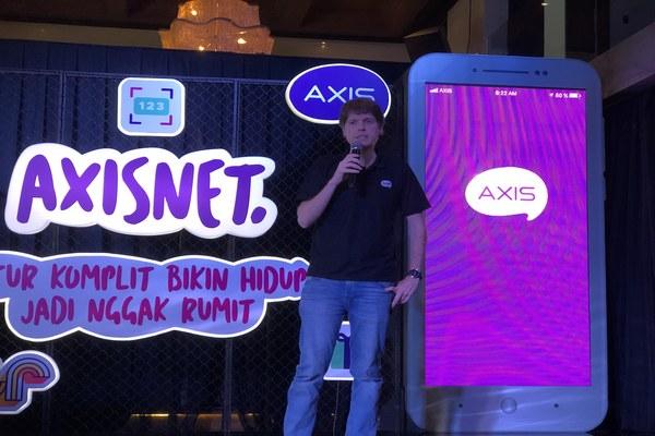 Chief Marketing Officer XL Axiata David Arcelus Oses di Jakarta, Senin (4/11/2019). - Bisnis/Leo Dwi Jatmiko