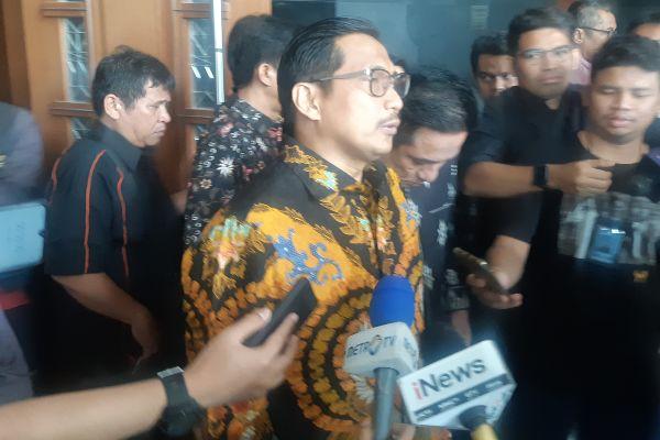 Bowo Sidik Pangarso seusai mengikuti sidang tuntutan di Pengadilan Tipikor. - Bisnis/Ilham Budhiman