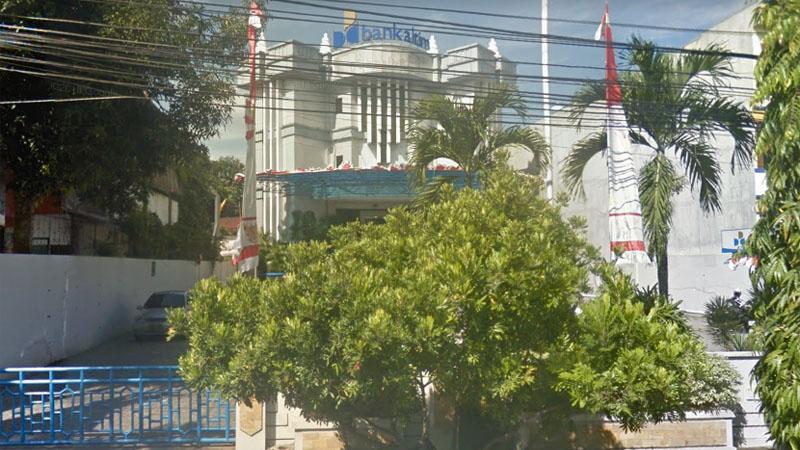 Bank Kaltimtara di Jl. Jenderal Ahmad Yani Kota Balikpapan, Kalimantan Timur