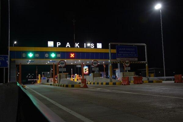 Gerbang Tol Pakis. - Jasa Marga