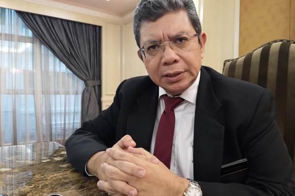 Menlu Malaysian Saifuddin Abdullah saat diwawancara Reuters di Kuala Lumpur, Malaysia, 23 April 2019. - REUTERS/Joseph Sipalan